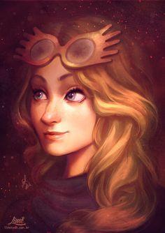 Luna Lovegood, by Amanda Duarte