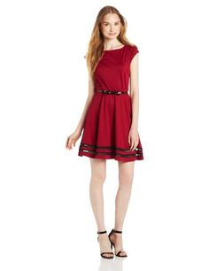 A. Byer Juniors Dress Cap Sleeve with Stripes On Skirt Hem, Wine, 9 A. Byer,http://www.amazon.com/dp/B00EAIXAJQ/ref=cm_sw_r_pi_dp_tglctb1CGEWD4WA8
