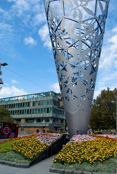Flowers and Sculptures Christchurch New Zealand