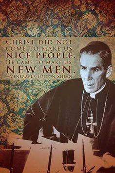 Venerable Archbishop Fulton J. Sheen