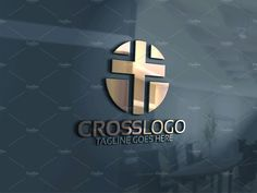 Cross Logo #logos#File#White#Color