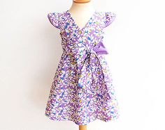For the most romantic #Girls! FAIRY Girl Dress #sewing #pattern by PUPERITA