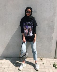 Trendy fitness style fashion inspiration Ideas hijab style Trendy fitness s Modern Hijab Fashion, Street Hijab Fashion, Hijab Fashion Inspiration, Muslim Fashion, Mode Inspiration, Home Fashion, Style Fashion, Teen Girl Fashion, Arab Fashion