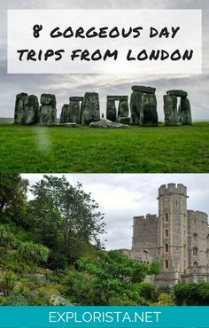 8 Day Trips to Take From London, England. Travel tips from Explorista.net