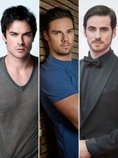 Ian Somerhalder V. Jay Ryan V. Colin O%u2019Donoghue: Who%u2019s Fall TV%u2019s�Hottest?