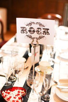 A Black & Red, 50s Rock n Roll Wedding