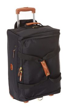 Bric's Milano X-Bag 21 Carry-On Rolling Duffle (Black) Duffel Bags - Bric's Milano, X-Bag 21 Carry-On Rolling Duffle, BXL32510-101, Bags and Luggage Duffel, Duffel, Bag, Bags and Luggage, Gift - Outfit Ideas And Street Style 2017