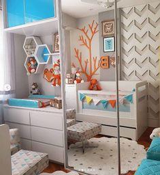 Twin Girls, Beautiful Bedrooms, Bunk Beds, Baby Room, Baby Kids, Toddler Bed, Sweet Home, Nursery, Interior Design