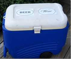 Tailgating Tip: Label coolers with a list of contents to avoid the all-too-common scavenger hunt!