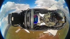 We have seen countless in-fighter jet cockpit videos set to the song Sail and many other high energy ones with pulsing techno beats and fast cuts, but this gorgeous fisheye video shot from inside a EF2000 allows you to feel the freedom of soaring through the skies in one of the world's most powerful fighter aircraft.
