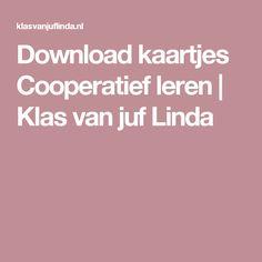Download kaartjes Cooperatief leren   Klas van juf Linda