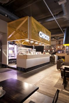 Great concept - Amerikka Design Office have re-designed the interior of a Chico's restaurant in Espoo, Finland.