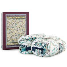 Grand Foulard trapuntato Zancle di Bassetti con la sua raffinata confezione. Ottima idea regalo www.carillobiancheria.it