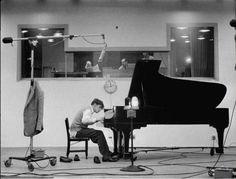 Glenn Gould enregistre Goldberg Variations, 1955