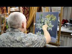 Занятие в школе живописи #34 - YouTube