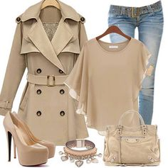 Almost every thing is tan its amazing I would so look like a detective in this outfit #detective #tan so in