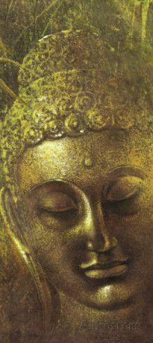 Buddha in Green ll Kunstdruk