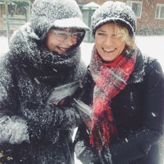 These sisters were out in field service in Copenhagen, Denmark when a snowstorm caught them. Looks like not even a snowstorm can dampen the spirit of our happy sisters. Photo shared by Read more at http://web.stagram.com/tag/jehovahswitnesses/?npk=1391835648796#WtKlwGoy2O5BkI8A.99