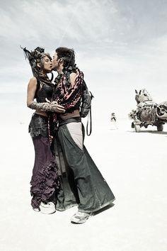 Lovely love. Burning Man