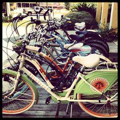 Bikes at Grayton Beach Florida