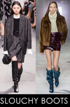 Slouchy boots are back in style, and we couldn't be more excited!