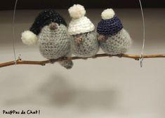 Ravelry: Zozio pattern by Coco Pasapasdechat Christmas Home, Christmas Crafts, Christmas Decorations, Holiday Decor, Merry Christmas, Diy Crochet, Crochet Hats, Crochet Christmas Ornaments, Yarn Bombing