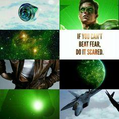 Hal Jordan Green Lantern aesthetic