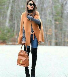 Jacket; boots