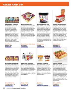 Grab and Go featured products Client: @munkpack Media: Progressive Grocer