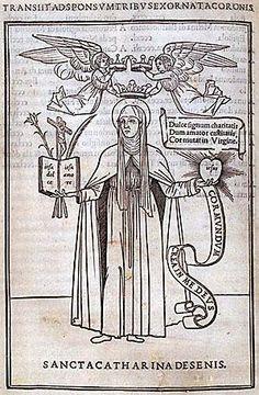 Catherine of Siena. Epistole devotissime de Sancta Catharina da Siena. 1500, Brigham Young University