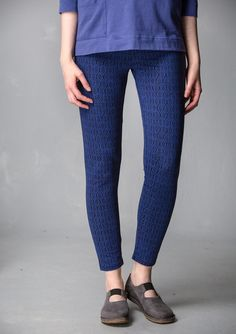 """""""Barbro"""" leggings in lyocell/spandex – Inger – GUDRUN SJÖDÉN – Webshop, mail order and boutiques   Colorful clothes and home textiles in natural materials."""