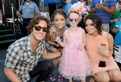 Variety Power of Youth Honors Diego Boneta, Sarah Hyland and Vanessa Hudgens, shown here with Brooke Hester