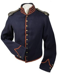 1839 Artillery Shell Jacket with Epaulets - Cowan's Auctions.. Body lining consisting of course woven butternut cotton ticking and thinner white muslin gauze in sleeves. Arsenal stamping on the inside of coat. Inside right sleeve is stamped is Gov't Manufacture, St Louis Mo. Large number 3. On the shoulder are 1851 enlisted brass shoulder scales.