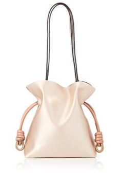 LOEWE Flamenco Knot Small Bag. #loewe #bags #shoulder bags #leather #