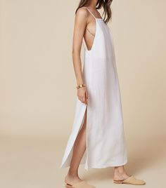 We Found the Best White Dresses (So You Don't Have To) via @WhoWhatWear   Reformation Lily Dress