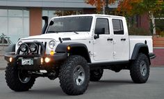 AEV Brute Double Cab, a4 door pick-up truck conversion for JK Wranglers ...WANT !!!