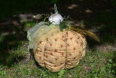 látková art dýně fabric pumpkin