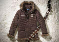 50 melhores presentes inspirados em Star Wars - Jaqueta Adidas Chewbacca