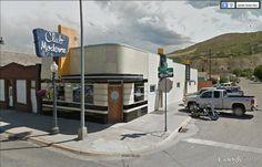 "Club Moderne, Anaconda (Montana) / Streamline Moderne / 46° 7'39.13""N 112°56'34.50""W (Google Earth Street View)"