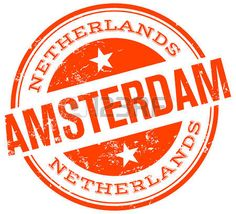 holland stamp: sello amsterdam