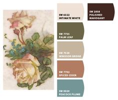 Chip It! by Sherwin-Williams – flowers