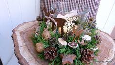 Adventskranz - Adventskranz Elche - ein Designerstück von ChriSue bei DaWanda
