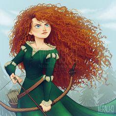 Merida the Brave by verauko.deviantart.com on @DeviantArt