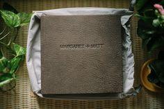 Queensberry Wedding Album | Donnan Photography | Contemporary Leather Cover #wedding #album