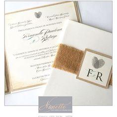 Hermosas invitaciones de Fer y Rodrigo!!!❤️