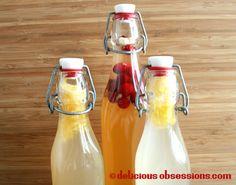 aHow to Make Water Kefir - Probiotic, fermented beverage