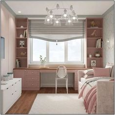 Pic 75 stunning ideas for girls bedroom that you must have page 17 Cute Room Decor, Teen Room Decor, Room Ideas Bedroom, Small Room Bedroom, Home Decor Bedroom, Bedroom Girls, Ikea Girls Bedroom, Small Bedrooms, Teenage Bedrooms