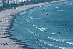 Conhecendo Santos e o Mundo: O litoral da baixada santista - São Vicente a primeira cidade do Brasil e a Praia Grande.