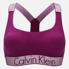 35db00efb9 Calvin Klein Women's Customised Stretch Lightly Lined Bralette Indulge Calvin  Klein Women, Sport Bras,