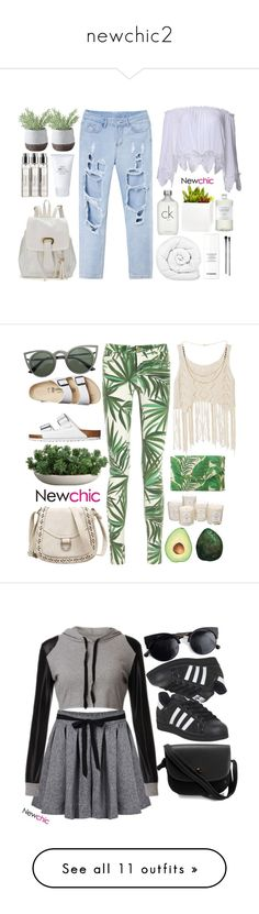 """""""newchic2"""" by credentovideos ❤ liked on Polyvore featuring Brinkhaus, Calvin Klein, Chanel, Byredo, Muji, Torre & Tagus, Shop Succulents, Williams-Sonoma, esum and MICHAEL Michael Kors"""